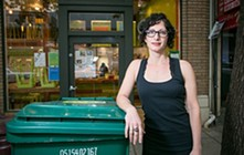 Gail Lillian, owner of Liba Falafel. - FILE PHOTO / BERT JOHNSON