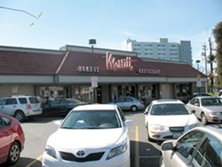 The owners of the former Merritt Bakery space are looking for a new tenant. - BOB GAMMON / FILE PHOTO