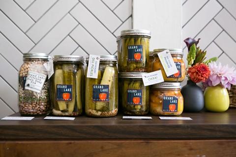 Products at Grand Lake Kitchen. - BERT JOHNSON