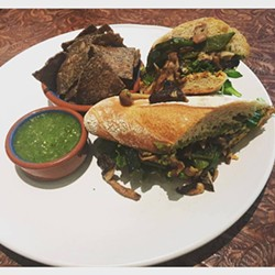 Mushroom torta at Calavera (via Facebook).