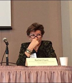 Rachel Flynn at a recent meeting of the Bay Area Planning Directors Association. - ASSOCIATION OF BAY AREA GOVERNMENTS