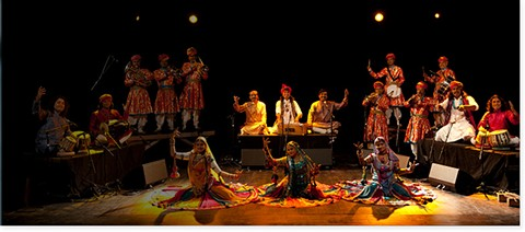 The Bollywood Masala Orchestra.