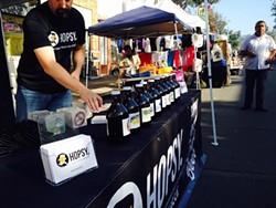 Hopsy celebrated Oaktoberfest in Oakland's Dimond district. - HOPSY