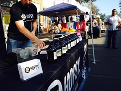 Hopsy celebrated Oaktoberfest in Oakland's Dimond district. - HOPSY