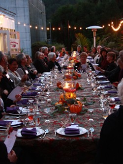 A previous year's Harvest Dinner.