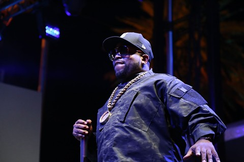 Big Boi of OutKast performed with his new group, Big Grams. - KEVIN FRANCIS BARRETT