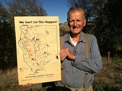 Richard Wilson helped bring an end to California's last dam-building era. - DOROTHY WOOD