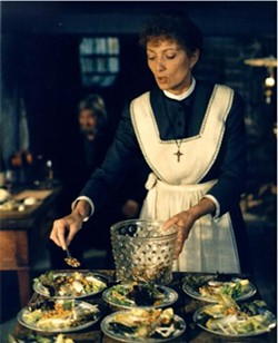 Babette's Feast is one of the four food-themed films that will screen.