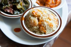 Big Momma's signature shrimp rice. - BERT JOHNSON