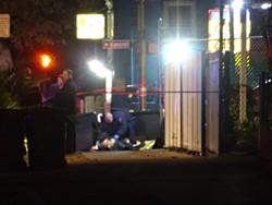 OPD fatally shot a man at 90th and Bancroft avenues. - DARWIN BONDGRAHAM