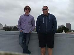 Chris Wolff and Jonathan Tu.