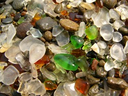 But the kids will love combing through glass at Glass Beach, too.