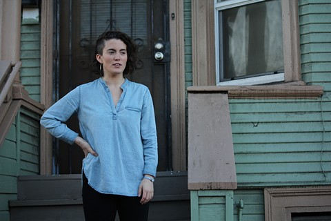 Kat Otto moved to West Oakland, in part because of its proximity to her work in San Francisco. - LUCAS WALDRON