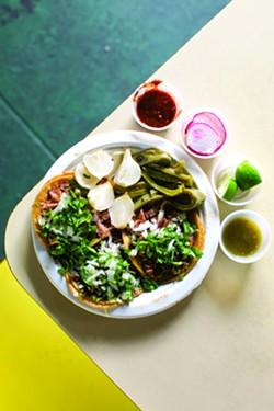 Tacos at Taqueria El Paisa@.com. - BERT JOHNSON/FILE PHOTO