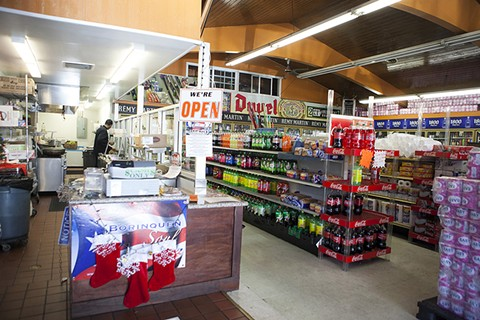 Borinquen Soul is housed inside the Two Star Market. - ERIN BALDASSARI