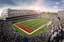 The Raiders officially submitted plan for a stadium in Carson.