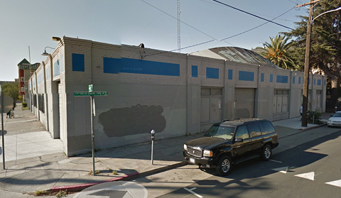 Flax's future location in Oakland. - GOOGLE STREET VIEW