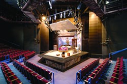 Peet's Theatre. - KEVIN BERNE