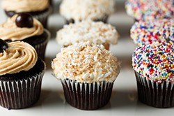 Coming to Downtown Oakland. - JAMES AND THE GIANT CUPCAKE