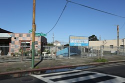 The future site of People's Community Market - LIZ PROBST