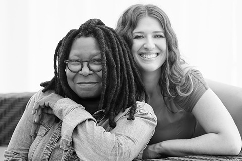 "Whoopi Goldberg and Maya Elisabeth, of new company ""Maya and Whoopi."" - VIA VANITY FAIR"