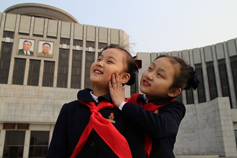 In Under the Sun, documentarian Vitaly Mansky portrays daily life in North Korea.