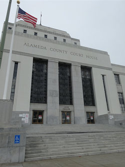 The Rene C. Davidson Courthouse in Oakland. - DARWIN BONDGRAHAM