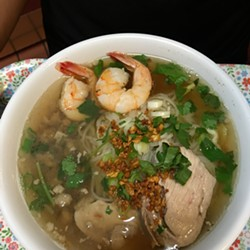 Kuy teav will be one of the Cambodian noodle dishes on the menu. - NYUM BAI