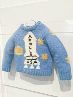 Danny's sweater in The Shining. - PHOTO BY NICK MILLER