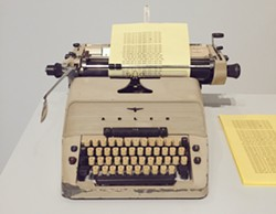 Jack's typewriter from The Shining. - PHOTO BY NICK MILLER