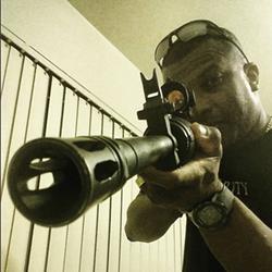 Defense Logistics Agency guard William Johnson. - INSTAGRAM