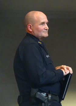 OPD Acting Assistant Police Chief David Downing.