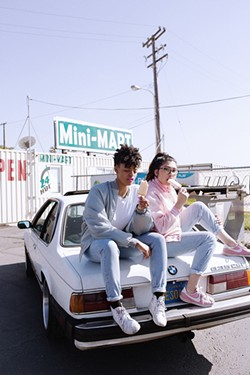 Azha Ayanna Luckman and Apryl Fuentes are the founders of Shade Magazine. - COURTESY MANCY GANT
