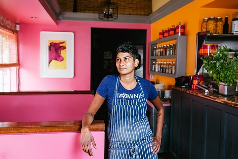 Preeti Mistry believes it's important for chefs to acknowledge their privilege. - ANDRIA LO