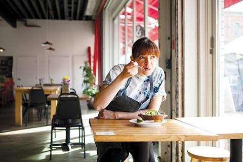 Cosecha chef-owner Dominica Rice-Cisneros. - BERT JOHNSON/FILE