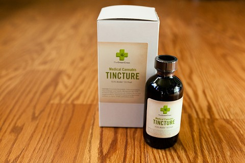 Patients in many nursing homes and hospice care facilities are prohibited from using cannabis-based tinctures and oils. - STEPHEN LOEWINSOHN