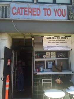 Teena Johnson's modest Uptown storefront. - LUKE TSAI
