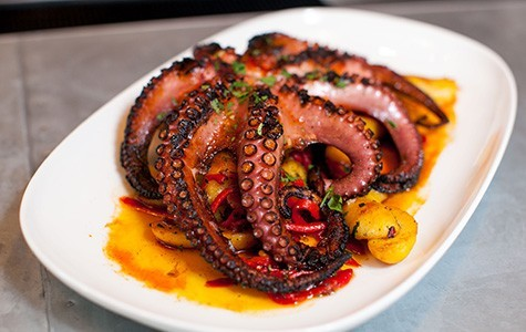 The octopus at Jack's Oyster Bar. - BERT JOHNSON/FILE PHOTO