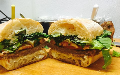 The Milanesa will be one of several sandwiches on the menu. - JAVI'S COOKING