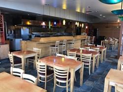The interior of the restaurant. - WILLIAM LUE