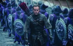 Matt Damon goes off to battle in The Great Wall.