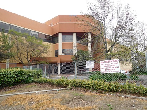 Mervyn's former headquarters in Hayward was abandoned after the company's 2008 bankruptcy.