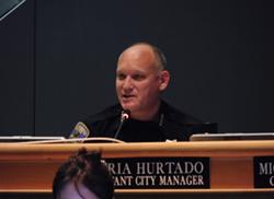 Hayward Police Chief Mark Koller.