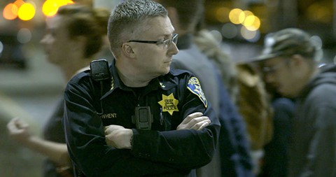 FORMER OAKLAND POLICE CHIEF SEAN WHENT IN THE FORCE