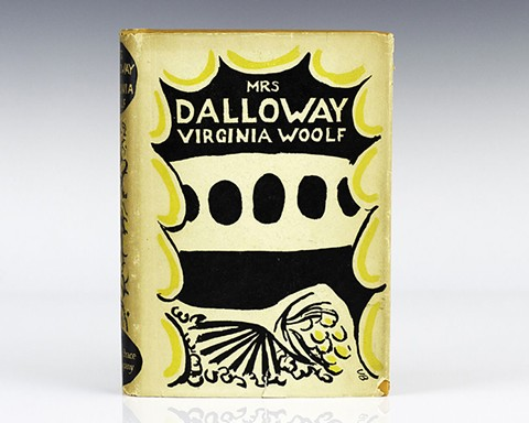 A first edition cover of Virginia Wolff's novel - COURTESY OF MRS. DALLOWAY BOOKSTORE IN OAKLAND