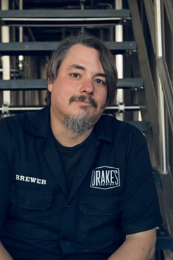 Drake's brewmaster John Gillooly. - PHOTO COURTESY OF DRAKE'S BREWING