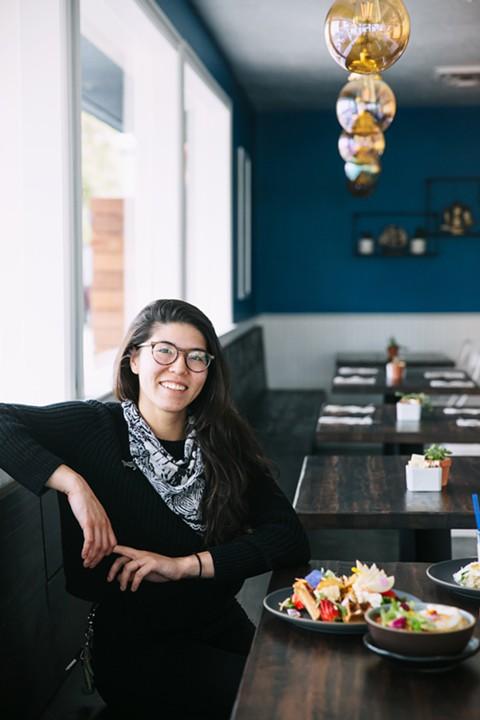 Neptune's executive chef, Naomi Elze-Harris. - ANDRIA LO