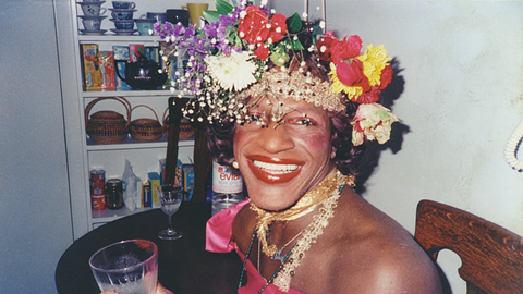 Marsha P. Johnson. - COURTESY OF NETFLIX/FRAMELINE