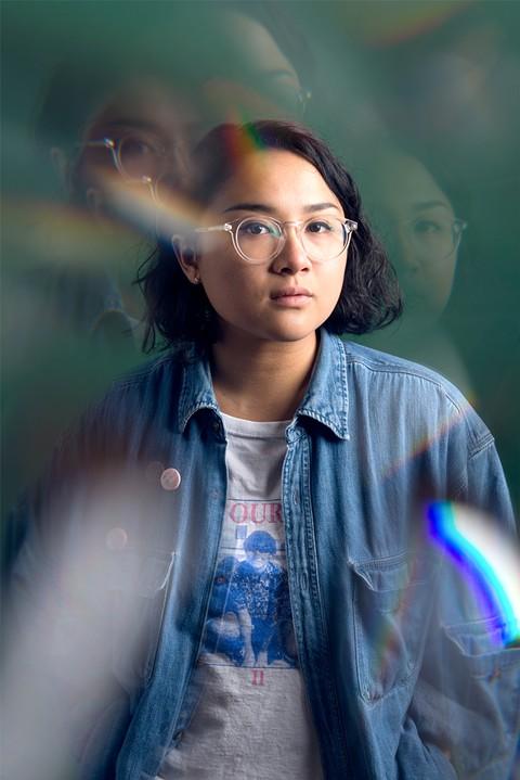Jay Som, the music project of 23 year-old Melina Duterte. - LANCE YAMAMOTO