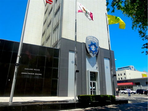 The Oakland Police Department's Police Administration Building.